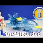 WONDER WOMAN Imaginext Winder Woman Invisible Plane a Batman Dc Comics Video Toy Review
