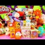 Playdough Eggs Surprise Toys DCTC Christmas Edition Kinder Joy Little Mermaid Mickey Vinylmations