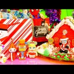 Surprise Christmas Ornaments Videos Spiderman MLP Gingerbread House x2 DCTC Disney Cars Toy Club