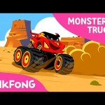 I'm a Monster Truck | Monster Trucks | Pinkfong Songs for Children