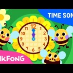 My Daily Tick tock | Time Songs | Pinkfong Songs for Children