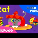 at | Cat Cat Cat | Super Phonics | PINKFONG Songs for Children