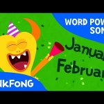 Twelve Months | Word Power | PINKFONG Songs for Children