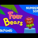 Four Bears | Number Songs | PINKFONG Songs for Children