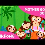 Five Little Monkeys | Mother Goose | Nursery Rhymes | PINKFONG Songs for Children