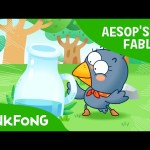 The Thirsty Crow | Aesop's Fables | PINKFONG Story Time for Children