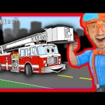 Blippi Songs for Kids | Nursery Rhymes Compilation of Fire Truck and more – 50 MINS!