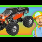 Monster Trucks for Kids – Learn Numbers and Colors