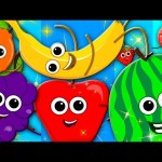 learn colors | fruits song | nursery rhymes | learning colors | preschool