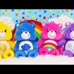Care Bears Sing A Longs NEW 2015 Toys Sunshine Bear Cheer Bear DisneyCarToys Toy Fair Promo