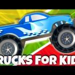 Monster Trucks for Children – Learning Videos Nursery Compilation by Animated Surprise Eggs TV