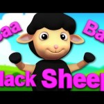 Baa Baa Black Sheep | Baby Bao Panda Cartoons And Rhymes