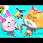 Fight For Doll | Loco Nuts Cartoon Shows | Funny Videos For Children – Kids Tv