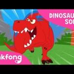 Tyrannosaurus-Rex   DInosaur Song   Pinkfong Songs for Children