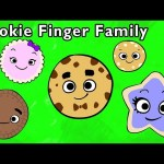 🍪Cookie Finger Family and More | DADDY FINGER BABY FINGER | Songs from Mother Goose Club!