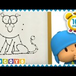 ❓ POCOYO in ENGLISH – GUESS The Animals (dot to dot) 🐱 |  EDUCATIONAL VIDEOS for kids