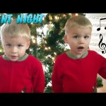 Cute Twins Sing Silent Night – Family Fun Pack