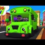 Wheels on the Bus | Baby Bao Panda Cartoons | Nursery Rhymes For Babies – Kids TV