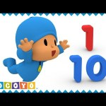 🔢 Learn NUMBERS with Pocoyo (1 to 10) 🎓 | EDUCATIONAL VIDEOS for KIDS