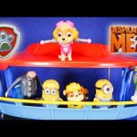 PAW PATROL Meets the  Despicable Me Minions Funny Toy Parody