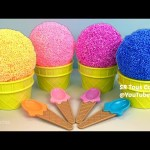 Learn Colors Playfoam Ice Cream Surprise Toys MLP Spiderman The Secret Life of Pets Disney Princess