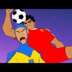 Supa Strikas | Hypno-Test | Soccer Cartoons for Kids | Sports Cartoon