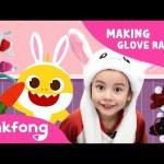 Let's Make Glove Rabbit | Sock Puppet Making | Pinkfong Playfong | Pinkfong Crafts for Children