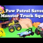 PAW PATROL  Saves the  Monster Truck Squad Toys Parody