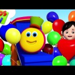 Balloon Song | Bob The Train Rhymes | Children Songs & Cartoon Videos – Kids TV