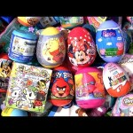 Kinder egg Minnie Mouse Toy Story 4 Unicorn Peppa Pig Trolls Surprises