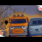 Olly the Little White Van – #Halloween Ghost Stories   Cars for Kids   Wizz   Cartoons for Kids