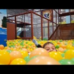 Indoor playground fun for kids and family. Video from KIDS TOYS CHANNEL