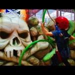 Indoor playground fun for kids. Video 2018