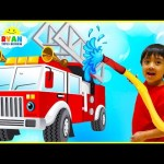 Learn Transport Vehicles for Children   Educational Video with Ryan ToysReview