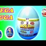 MEGA EGGA mystery egg toys review. SO What's inside ? Kinder egg