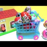 Toys Surprise Paw Patrol Skye goes Shopping for baby toys LOL Chocolate Egg