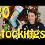 20 Surprise Stockings Filled With Toys Given To Charity by DisneyCarToys Kids Toys