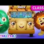ChuChu TV Classics   Wheels On The Bus   Kenya Wildlife Safari  Surprise Eggs Nursery Rhymes