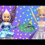 Frozen Dolls Turn Into Fairy Dolls Just Like Tinkerbell Kids Toys