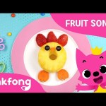 Fruit-Veggie Fun Shapes | Fruit Song | Pinkfong Songs for Children