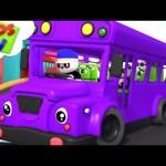 The Wheels On The Bus | Baby Bao Panda | Nursery Rhymes And Cartoons Videos – Kids TV