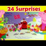 2017 Peppa Pig Advent Calendar 24 Surprises