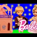 Barbie Kelly Castle With Chelsea Dolls Prince and Princess Toy Review Kids Toys