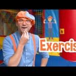 Exercise With Blippi at The Kids Playground | BRAND NEW BLIPPI | Educational Videos For Kids