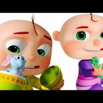 Five Little Babies Opening The Eggs – Learn Wild Animals (SINGLE)  Videogyan 3D Rhymes   Zool Babies