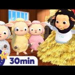 Hickory Dickory Dock! +More Nursery Rhymes – ABCs and 123s & Songs For Kids! Little Baby Bum