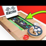 How To Make Car Racing Game Machine at Home