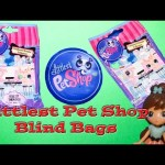 LITTLEST PET SHOP The LPS Blind Bags with  Frozen Elsa and Anna a LPS Toy Video