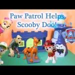 Paw Patrol Helps Scooby Doo Catch a Bad Guy a Toy Video Parody