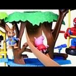 Peppa Pig & The Peter Rabbit Adventure Treehouse Kids Toys